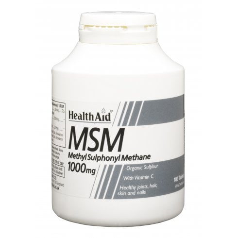 Health Aid MSM 1000mg  180's