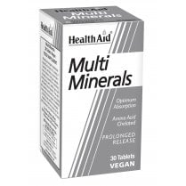 Multiminerals Prolonged Release  30's