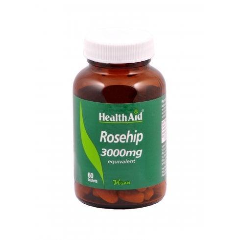 Health Aid Rosehip 3000mg 60's