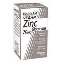 Zinc Gluconate 70mg 90's