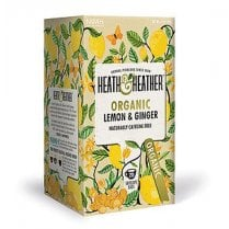 Organic Lemon and Ginger Tea 20's