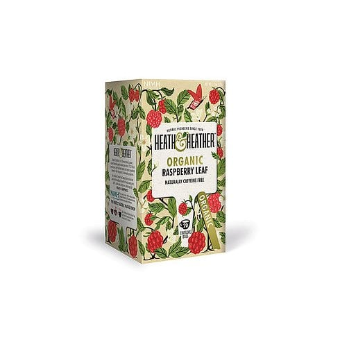 Heath and Heather Organic Raspberry Leaf Tea 20's