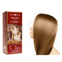 Henna Cream Golden Blonde Surya Brasil 2.37oz Vegan, PPD Free