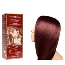 Henna Cream Mahogany Surya Brasil 2.37oz Vegan, PPD Free