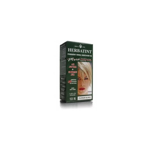Herbatint Hair Dye Platinum Blonde 10N