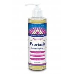Psoriasis Scalp & Body Wash (Peppermint) 240ml