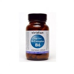 HIGH SIX Vitamin B6 with B-Complex Capsules - 90