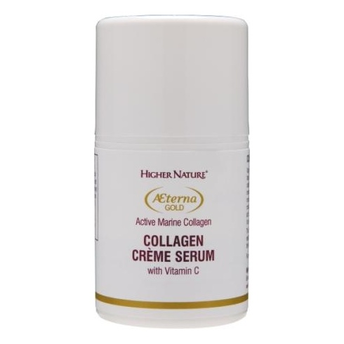 Higher Nature Aeterna Gold Collagen Creme Serum 50ml