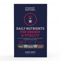 Higher Nature Daily Nutrients For Energy & Vitality 28 Days Supply