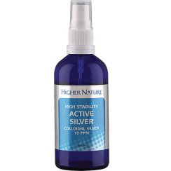 Higher Nature High Stability Active Silver 200ml Liquid Refill