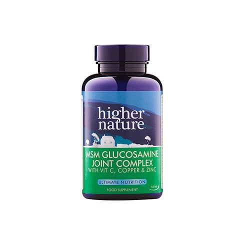 Higher Nature MSM Glucosamine Joint Complex 90's