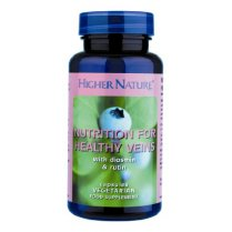 Higher Nature Nutrition for Healthy Veins Capsules - 30