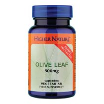 Higher Nature Olive Leaf Extract 500mg Capsules - 30