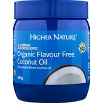 Organic Flavour Free Coconut Oil 400g