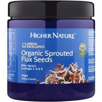 Organic Sprouted Flax Seeds 250g