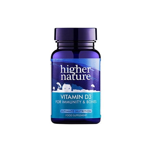 Higher Nature Vitamin D3 120's
