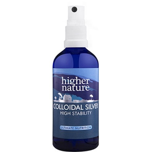 Higher Nature Colloidal Silver (High Stability) 100ml
