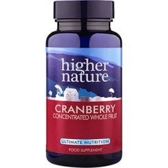 Cranberry Concentrated Whole Fruit & Standardised Extract 90's