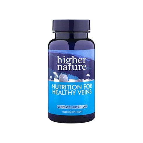 Higher Nature Nutrition for Healthy Veins 90's