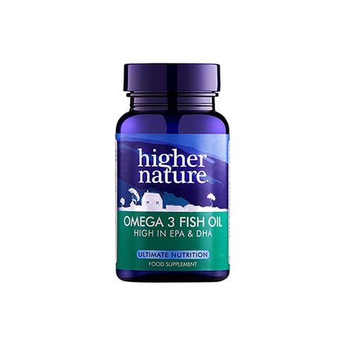 Higher Nature Omega 3 Fish Oil 90's