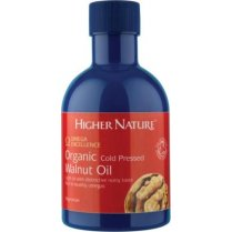 Organic Cold Pressed Walnut Oil 200ml