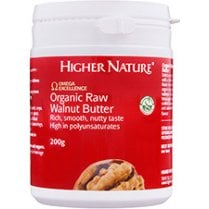 Organic Raw Walnut Butter 200g