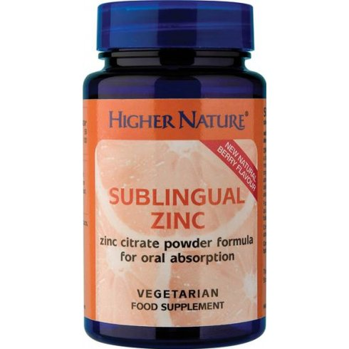 Highernature Sublingual Zinc 48g