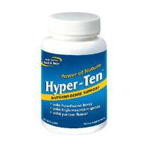 Hyper-Ten 90's (yarrow flower, hawthorne berry, sage & black seed)