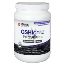 GSH Ignite ProSeries Tropical Blueberry 600g