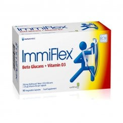 ImmiFlex 250 mg + 25 mcg Vitamin D3 90's