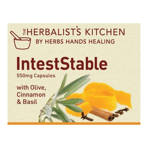 Herbalist's Kitchen by Herbs Hands Healing IntestStable 550mg 150 caps