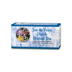 Jan de Vries' Dutch Herbal Tea 25 x 2g
