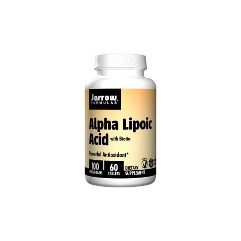 Jarrow Formulas Alpha Lipoic Acid 100mg 60's