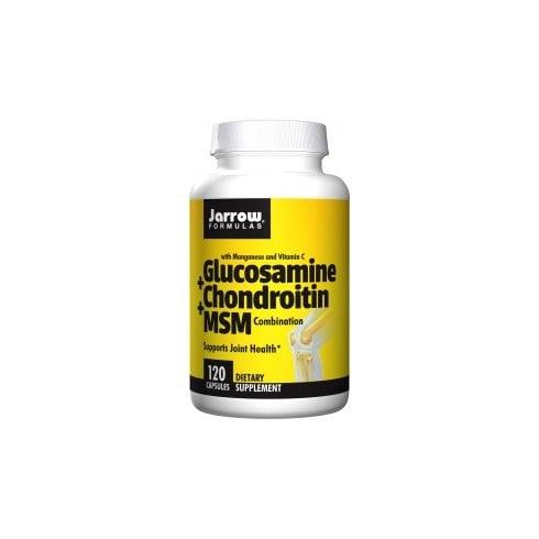 Jarrow Formulas Glucosamine + Chondroitin + MSM 120's