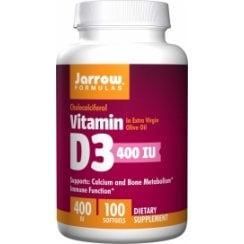 Vitamin D3 400iu 100 softgels