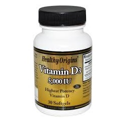Vitamin D3 5000iu 100 softgels