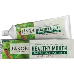 Healthy Mouth Antiplaque & Tartar Control paste Tea Tree Oil & Cinnamon 119g