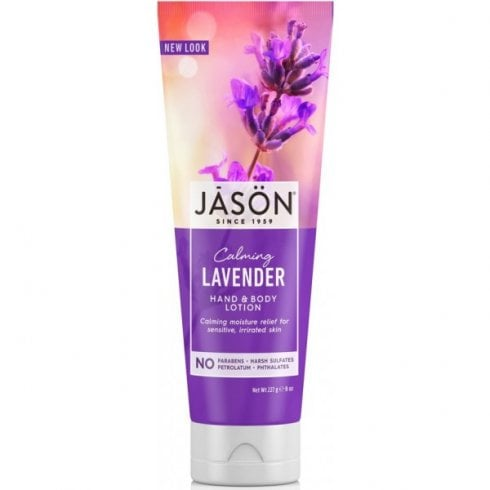 Jason Lavender Hand & Body Lotion (Calming) 250g