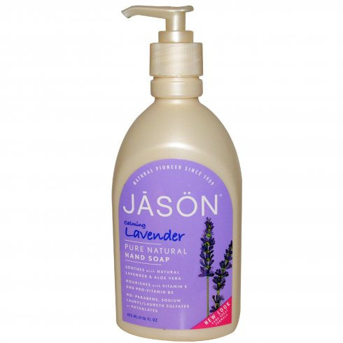 Jason Lavender Hand Soap Calming 473ml