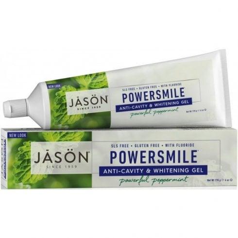 Jason Powersmile Anti-Cavity & Whitening Toothgel 170g