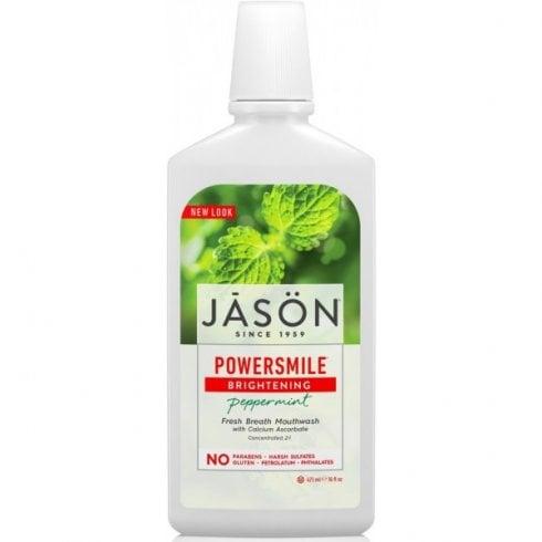 Jason Powersmile Peppermint Mouthwash (Brightening) 473ml