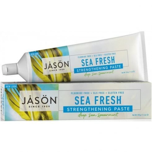 Jason Sea Fresh All Natural Strengthening Toothpaste 170g