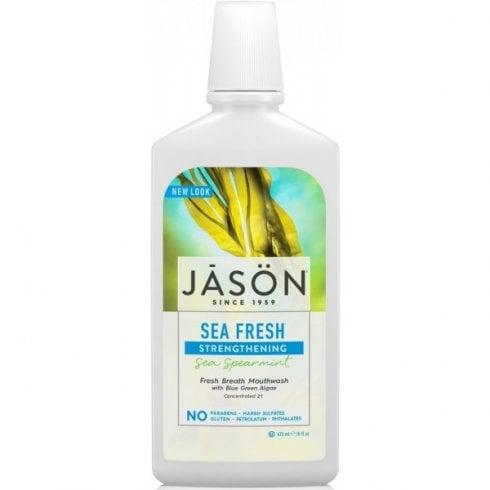 Jason Sea Fresh Sea Spearmint Mouthwash (Strengthening) 473ml