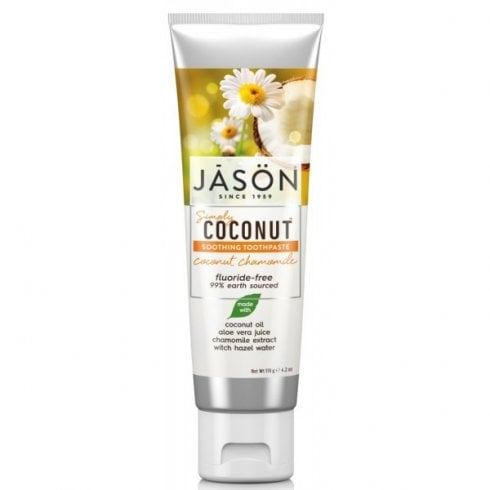 Jason Simply Coconut Soothing Toothpaste Coconut Chamomile 119g
