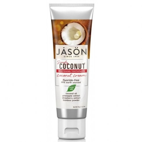 Jason Simply Coconut Whitening Toothpaste Coconut Cream 119g