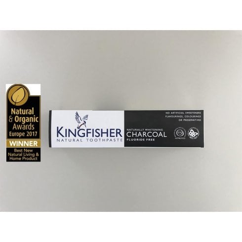Kingfisher Charcoal Toothpaste 100ml