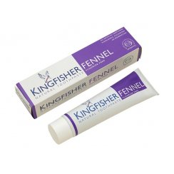 Kingfisher Fennel Natural Toothpaste fluoride-free 100ml (PURPLE BOX)