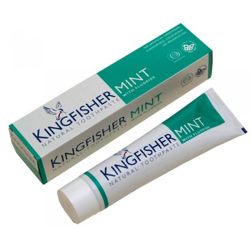 Kingfisher Mint Natural Toothpaste with fluoride 100ml