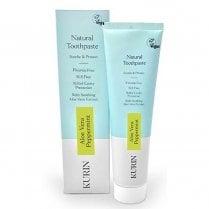 Fluoride Free Natural Aloe Vera Toothpaste Mint 100ml