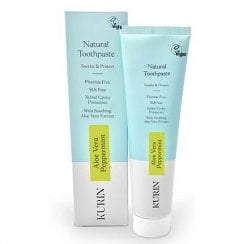 Fluoride Free Natural Aloe Vera Toothpaste Mint 100ml